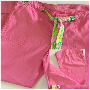 Lilly Pulitzer Sz. S Pink Wide Legged Pants